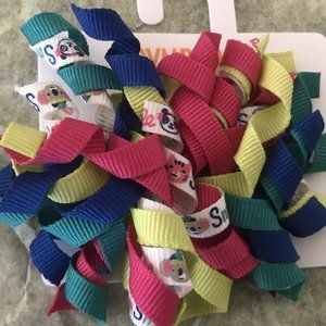 NWT gymboree color happy korkers barrettes panda